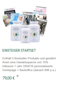 Marketingplan Natura Vitalis Einsteiger Startpaket